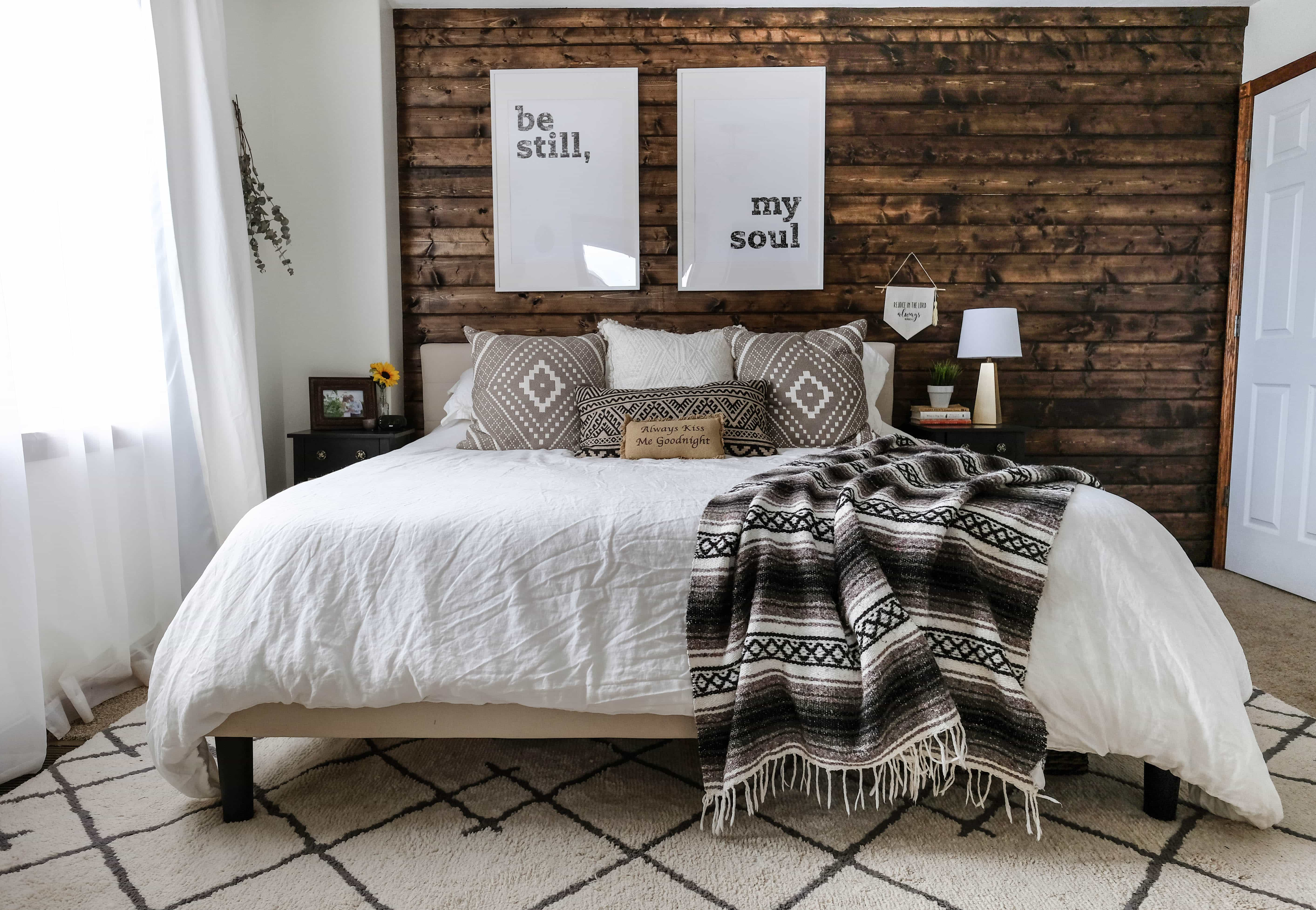 Wood Accent Wall DIY | An Easy Step-By-Step Tutorial