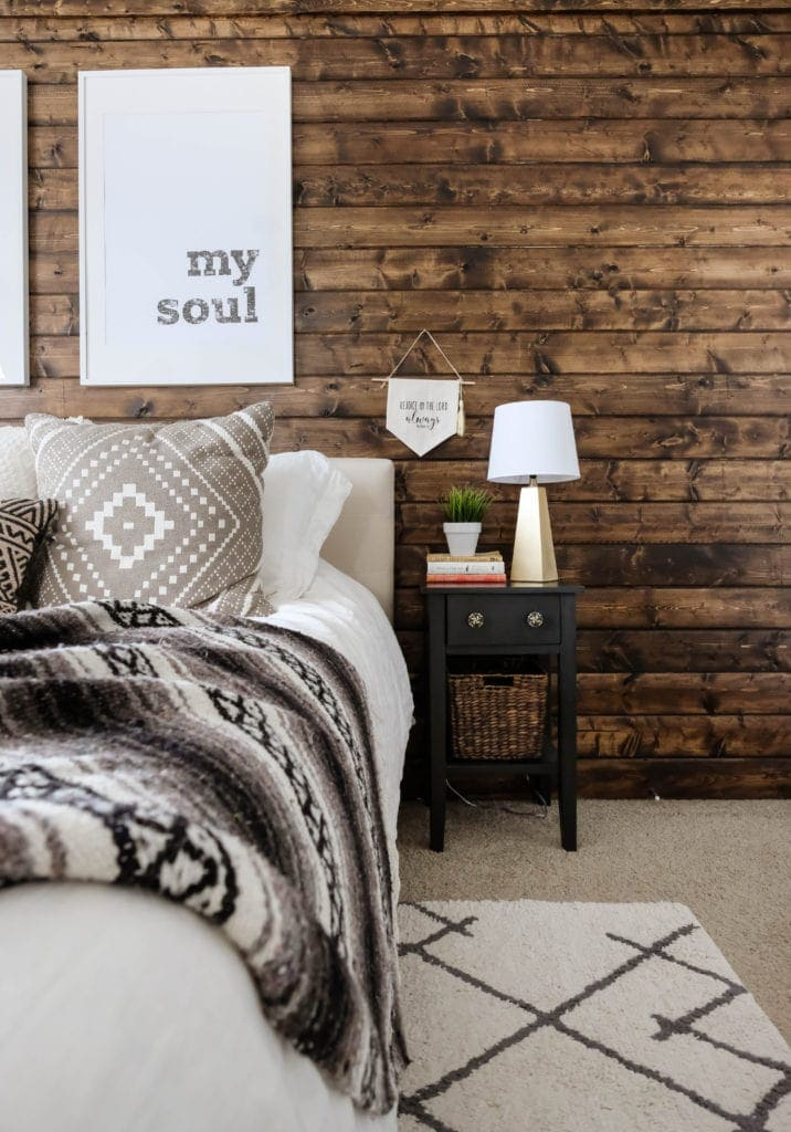 How To Build A Wood Plank Accent Wall Easy Diy Tutorial