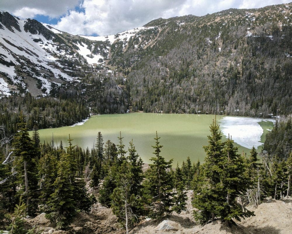 Hike to High Mountain Lakes in Central Montana - Bell Lake, MT USA