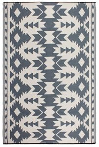 Aztec style outdoor rugs on amazon