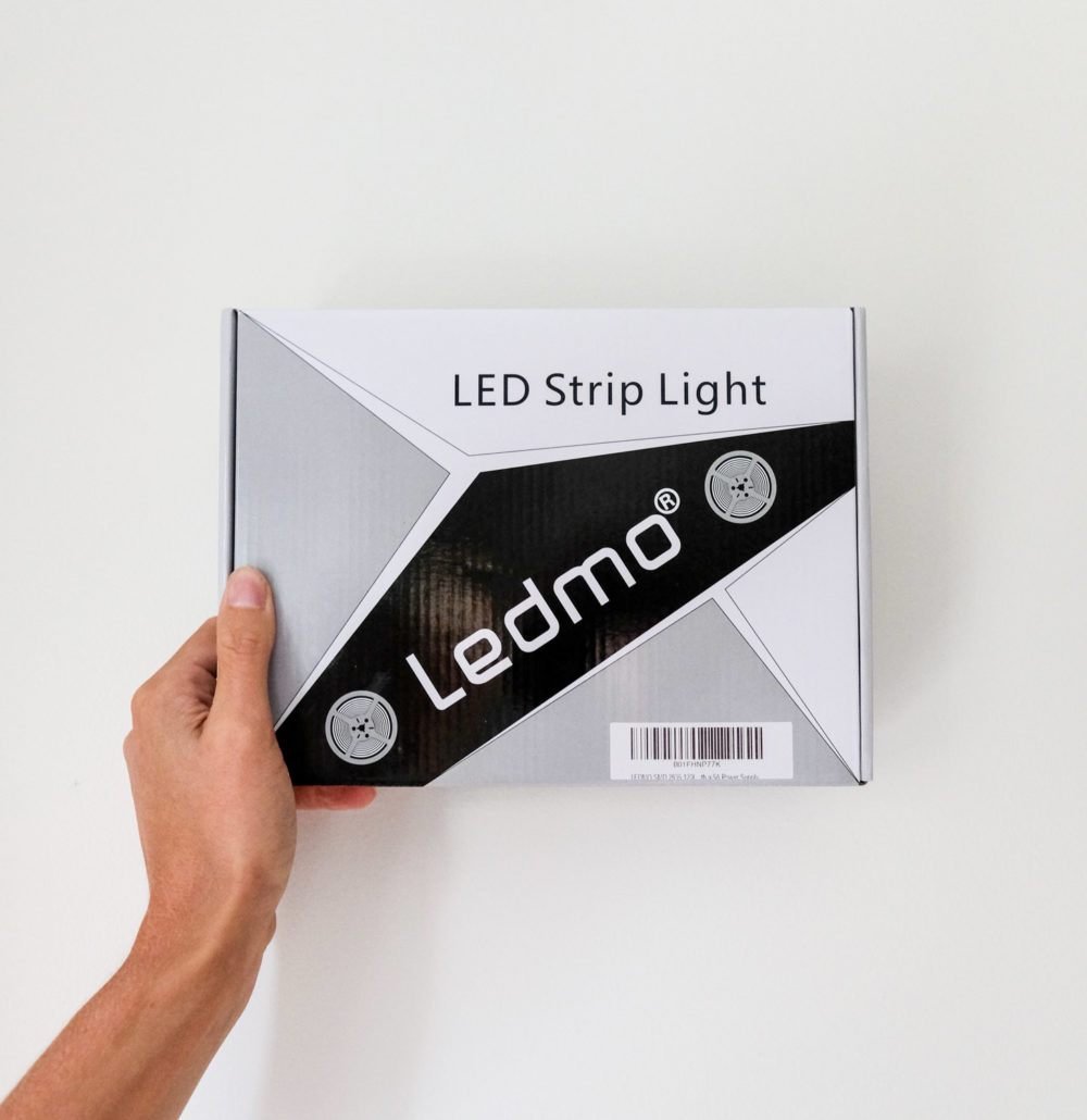 Ledmo Led Strip Light for adding above cabinet lighting