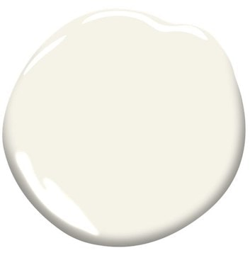 Simply White (OC-117) a white paint color by Benjamin Moore
