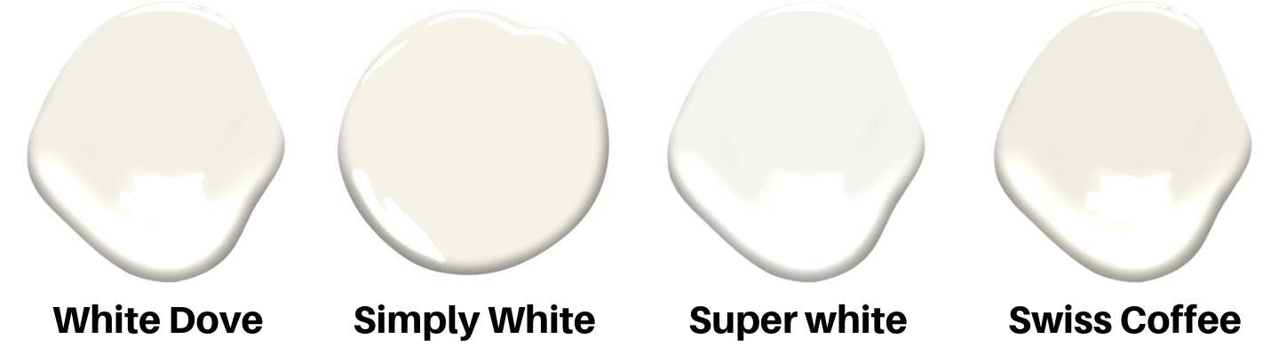 popular white paint colors