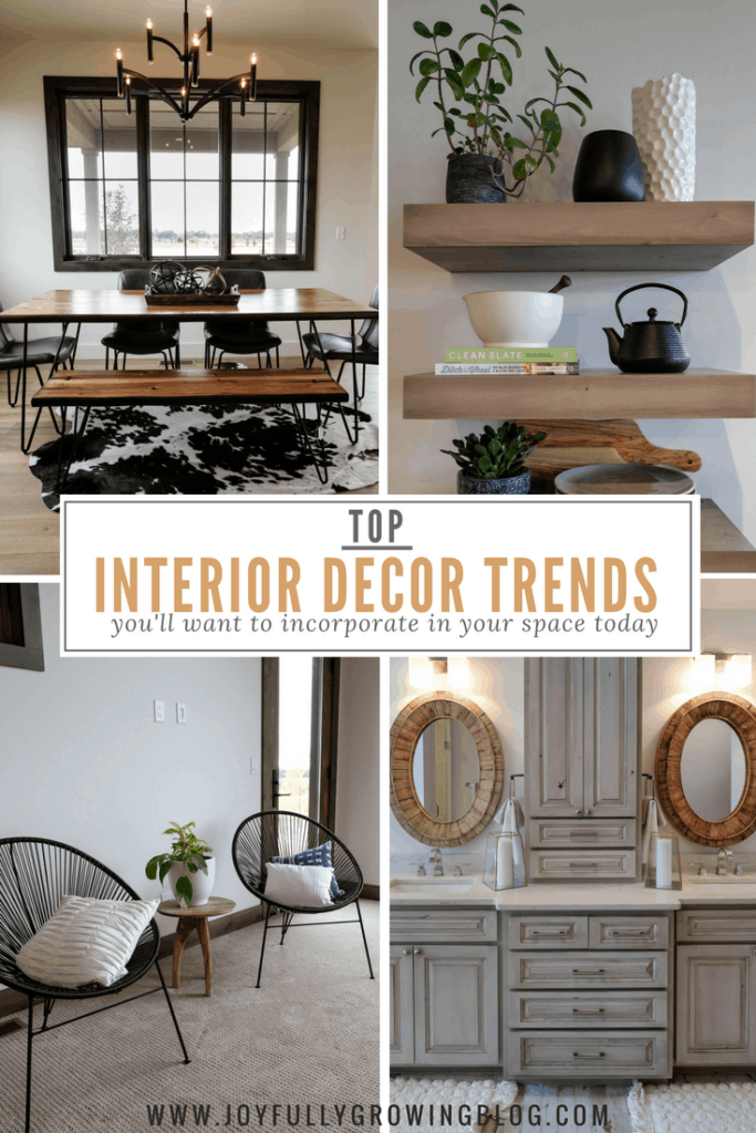 Top trends from interior designers