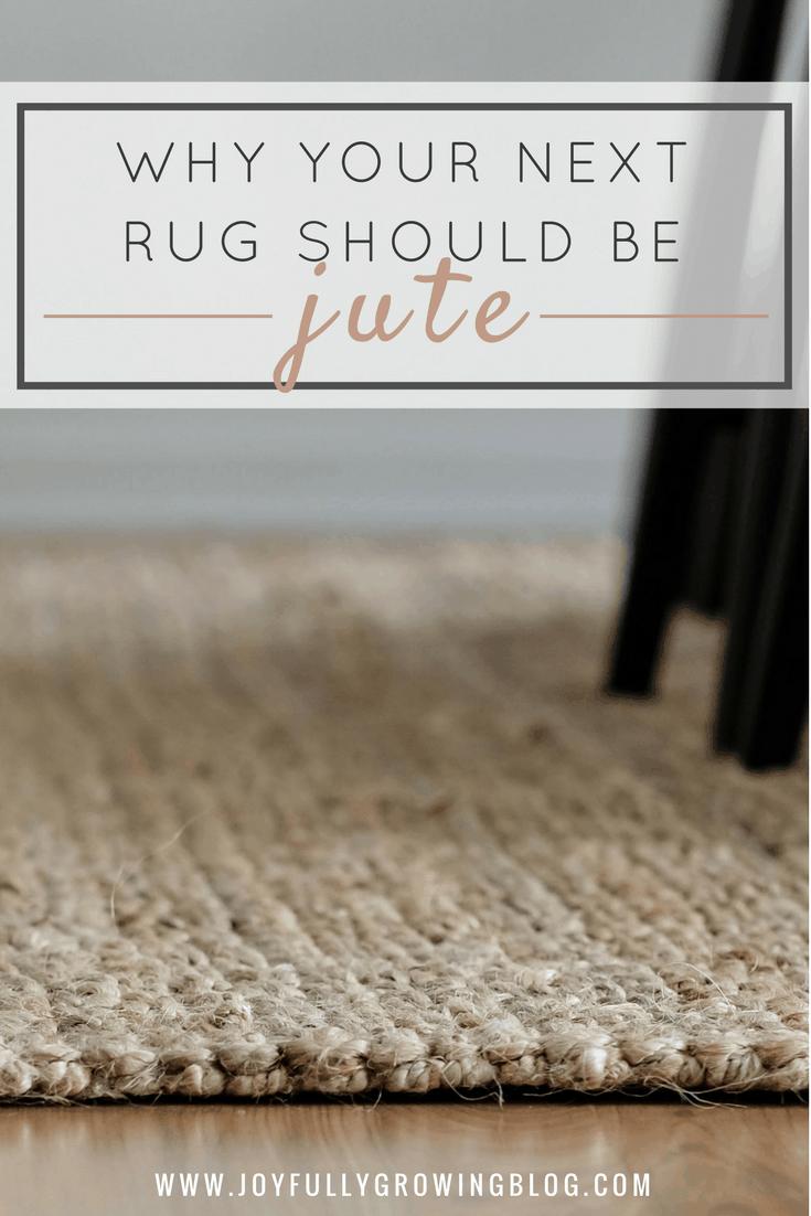 An Honest Jute Rug Review | Joyfully