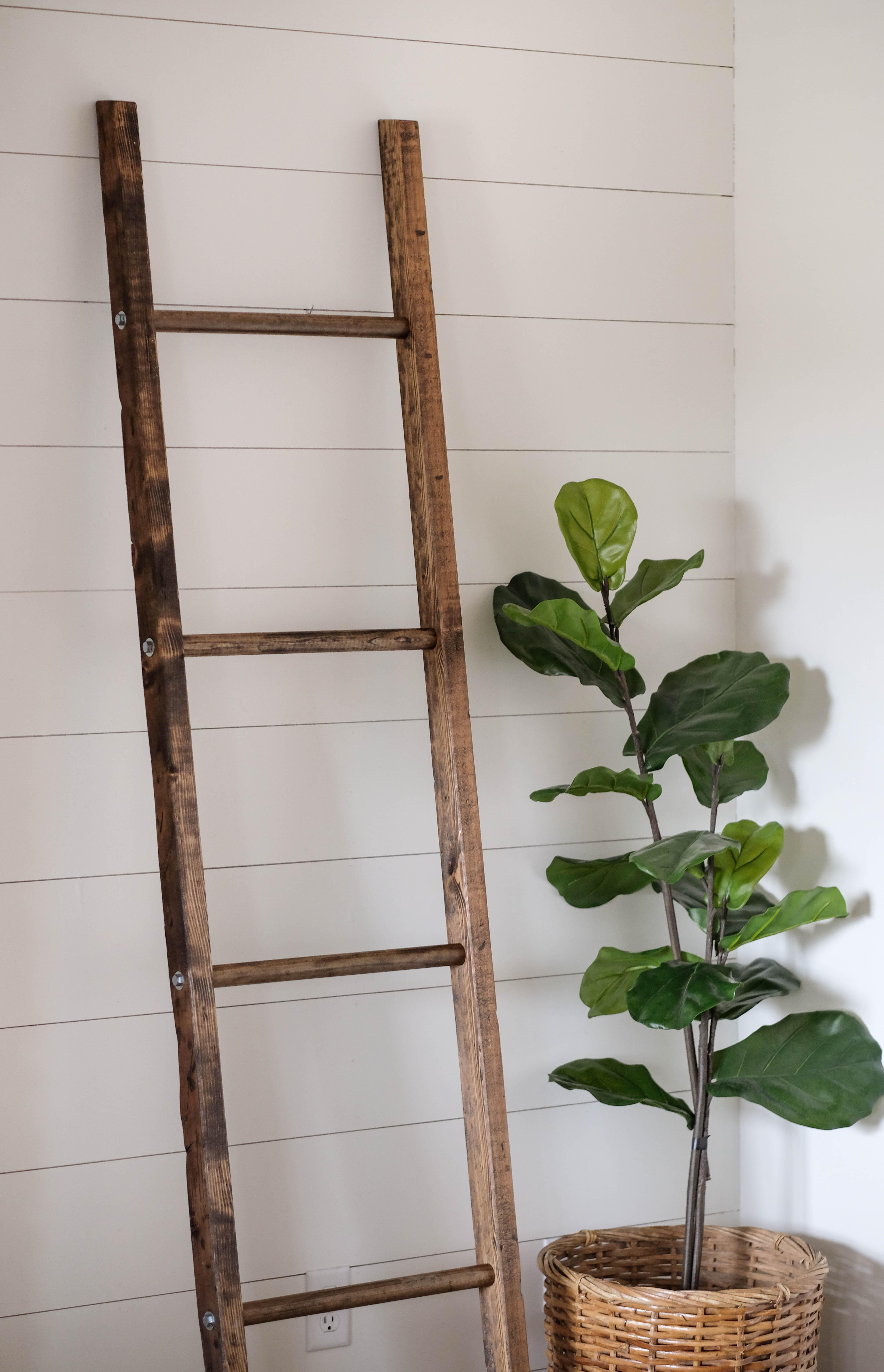Easy Diy Blanket Ladder Plans Easy Step By Step Guide Under 15