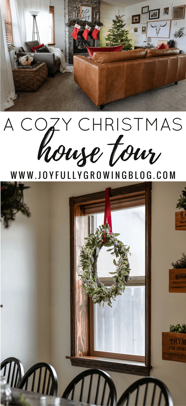 Cozy Christmas House Tour