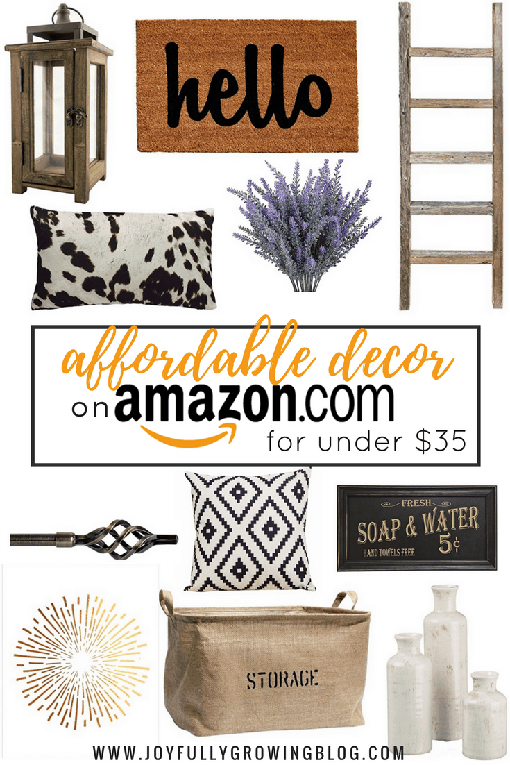 Affordable Decor Finds on Amazon for Under $35 | Budget-friendly decor that will look good with any style | The best decor on Amazon