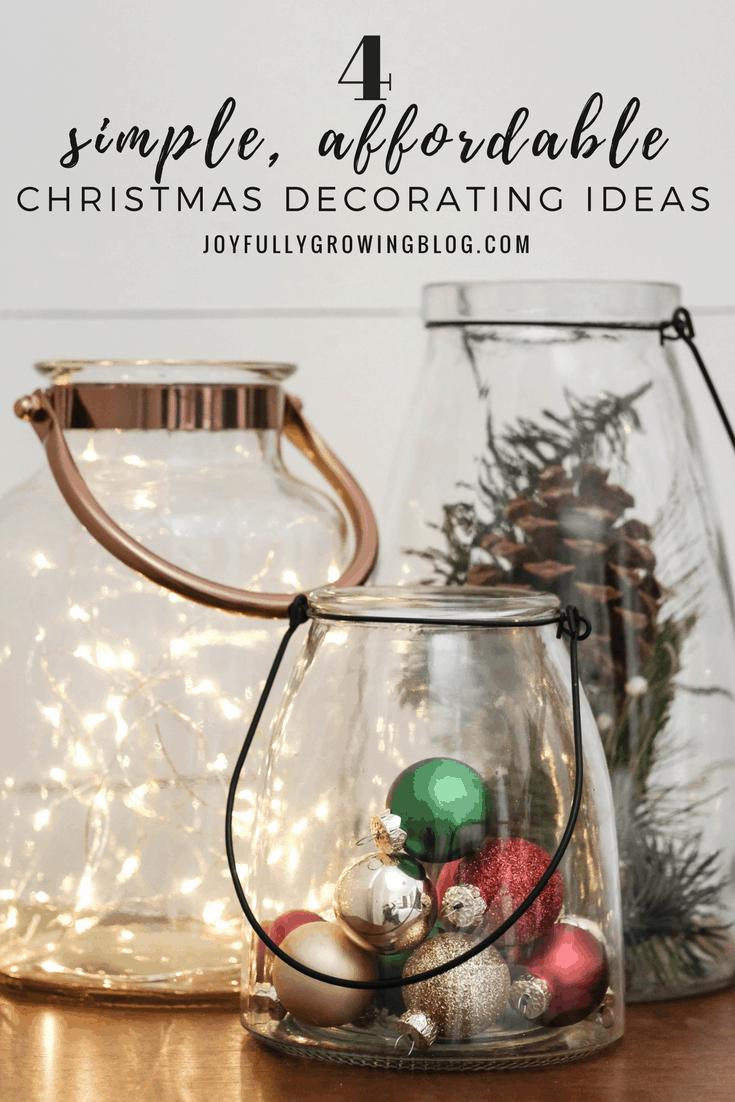 4 Christmas Decor Hacks You Can Do On A Budget