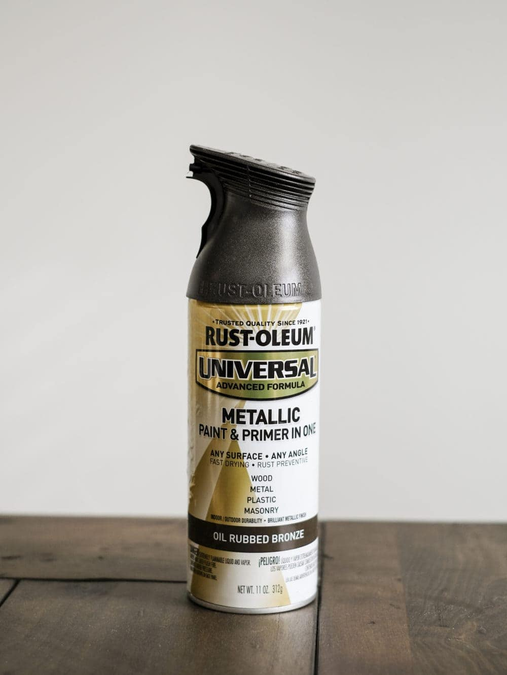 RUST-OLEUM METALLIC OIL RUBBED BRONZE spray paint