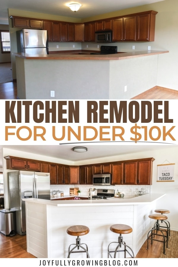 Kitchen Remodel On A $10k Budget | Appliances, Countertops ...