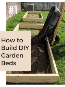 How to build DIY Garden Beds - Read the Post