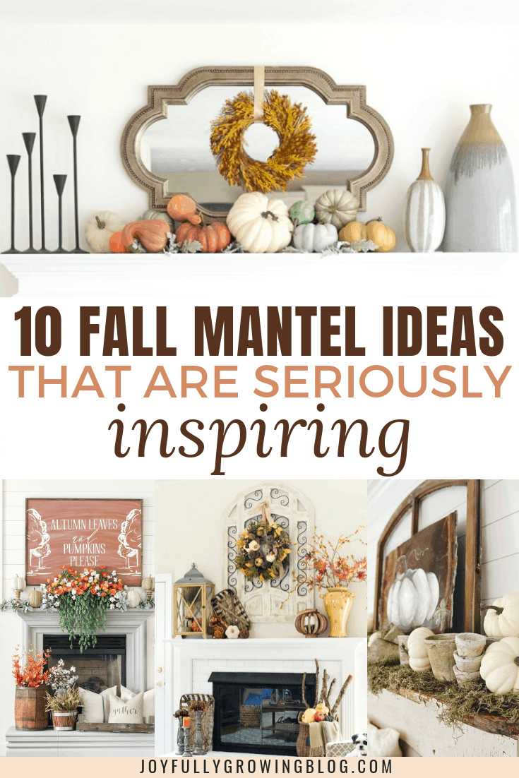 Fall mantel ideas compilation