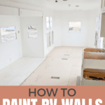 How to paint rv interior walls