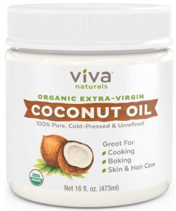 Organic extra-virgin coconut oil for first trimester