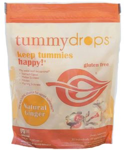 Tummy drops ginger candy for first trimester must haves