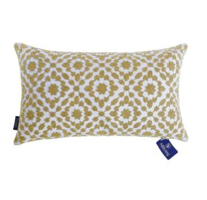 mustard yellow decorative pillow cover