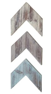 wall-mounted decorative wood chevron coastal style deor