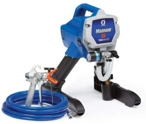 airless paint sprayer perfect for painting an RV