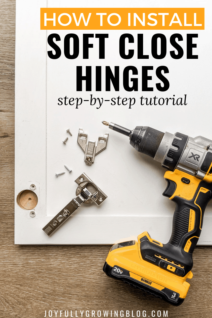 how to install soft close hinges