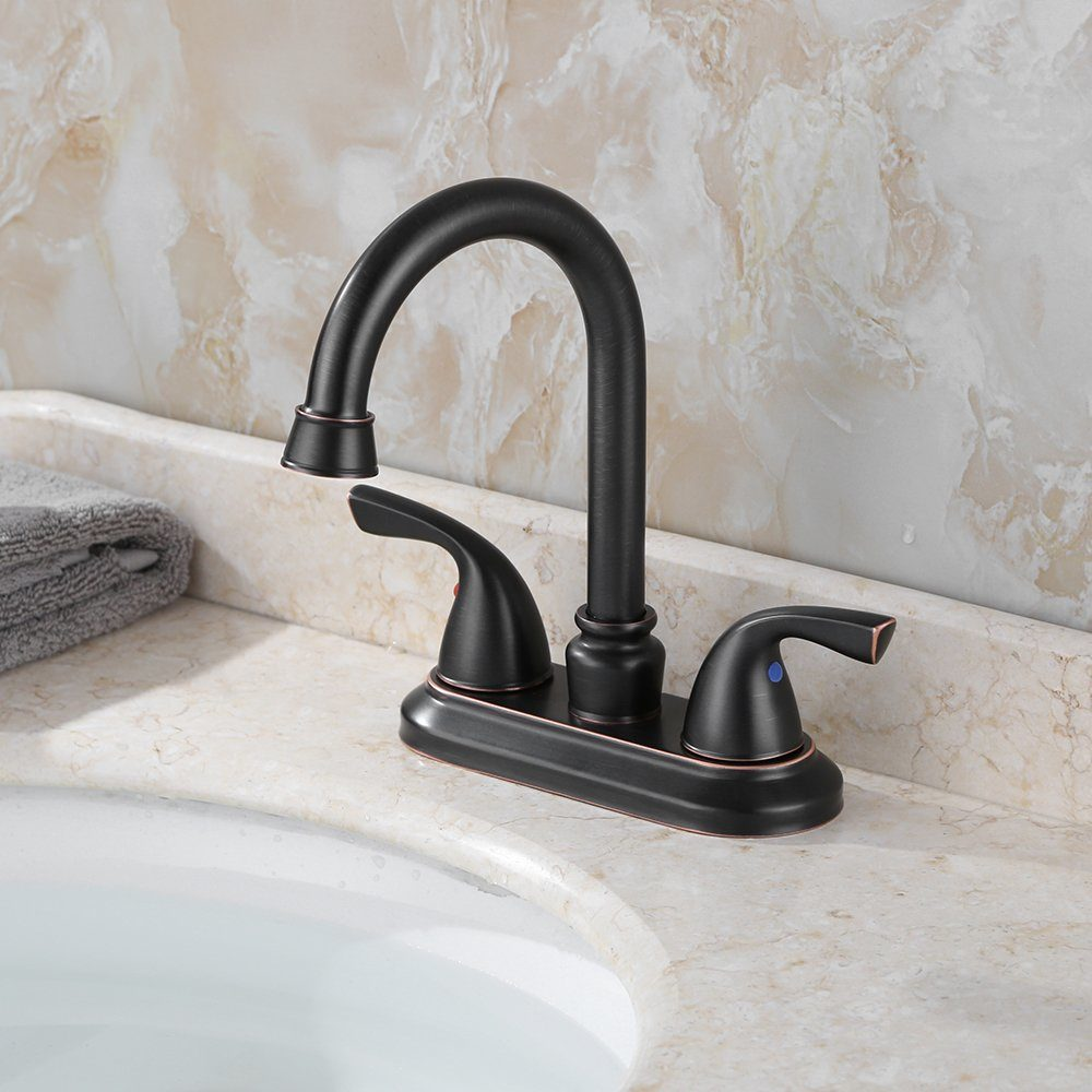 a budget friendly oil-rubbed bronze faucet
