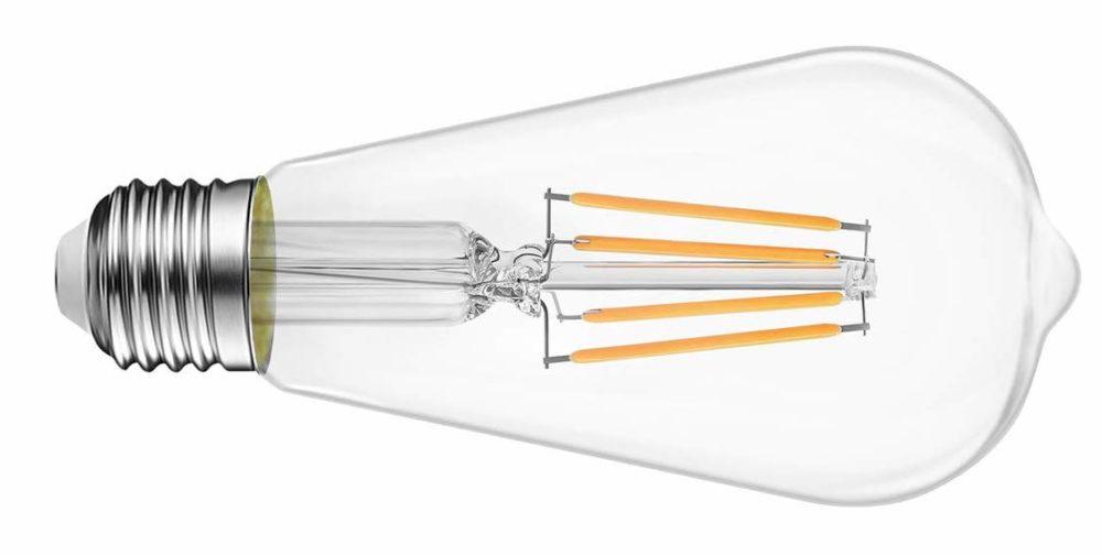 edison style LED light bulb