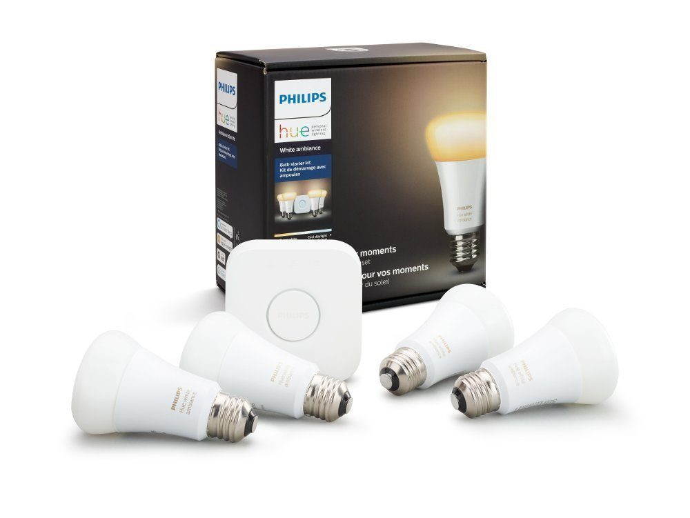 philips hue white ambiance LED light bulbs