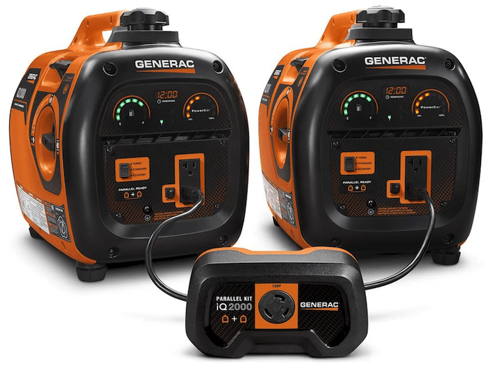 GENERAC iQ2000 parallel inverter generators