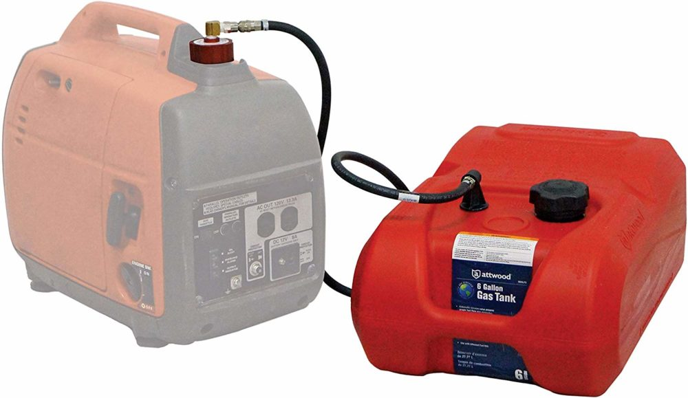 generator external gas tank