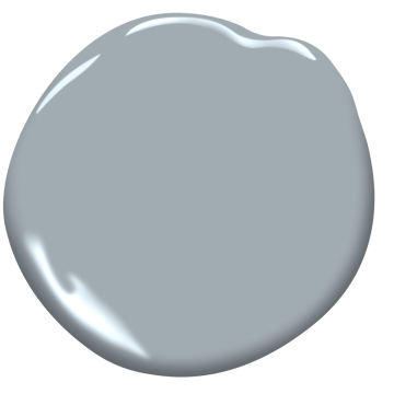 Pike's Peak Gray paint color swatch