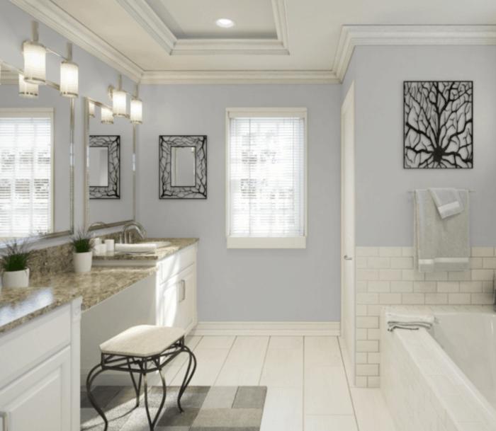 Light French Gray bathroom