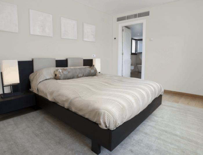 Repose Gray bedroom