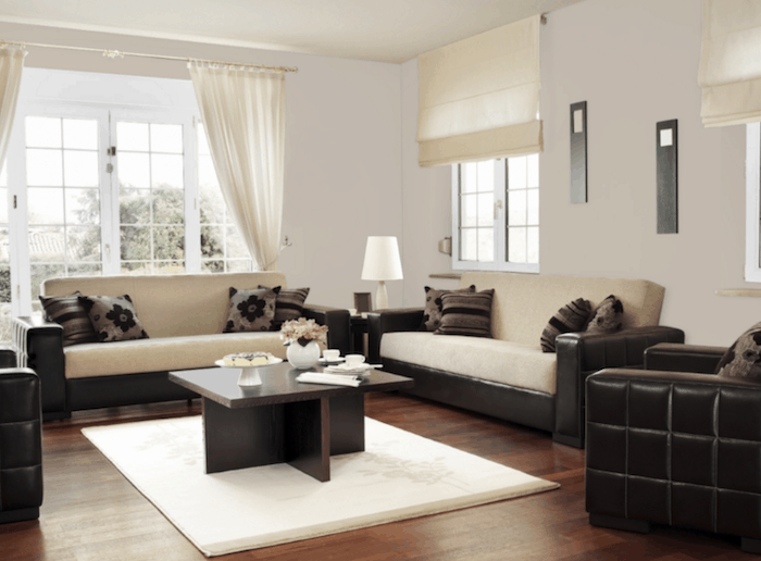 worldly gray living room paint