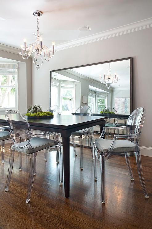 Thunder gray paint dining room