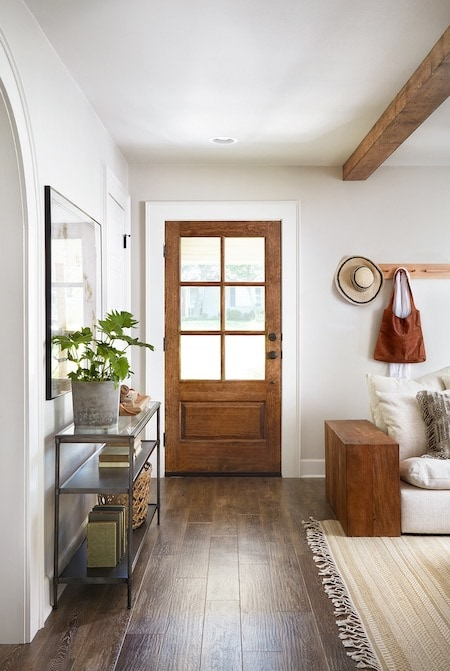 entry with the perfect paint color