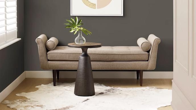 Urbane Bronze living room paint